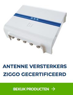 Antenne versterkers Ziggo gecertificeerd