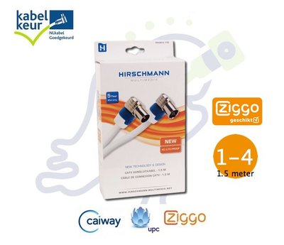 Hirschmann FEKAB 5 coax kabels