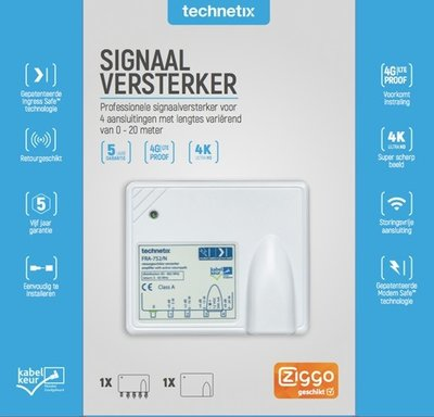 FRA-752-S Technetix kabel TV versterker