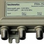 Voorbeeld F-connector aansluiting
