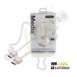 Profigold PROM 1212 High Speed HDMI kabel met ethernet Wit 2m