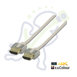 Profigold PROM 1211 High Speed HDMI kabel met ethernet Wit 1m