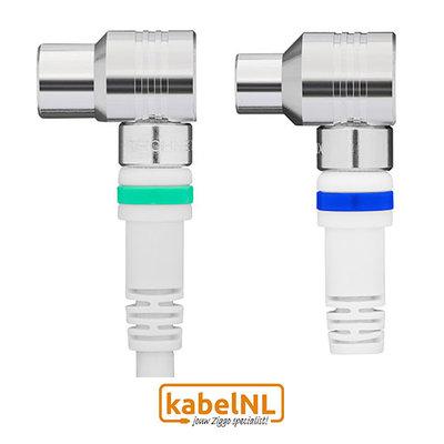 Technetix RLA ++ 21 coax kabel Ziggo 10m