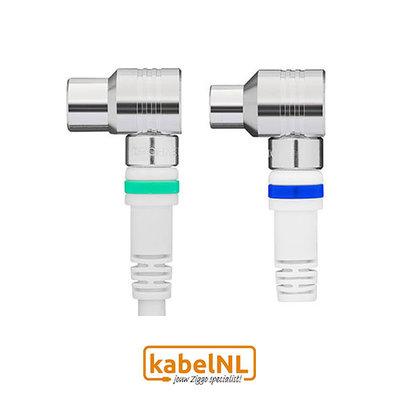 Technetix RLA ++ 21 coax kabel Ziggo 1.5m