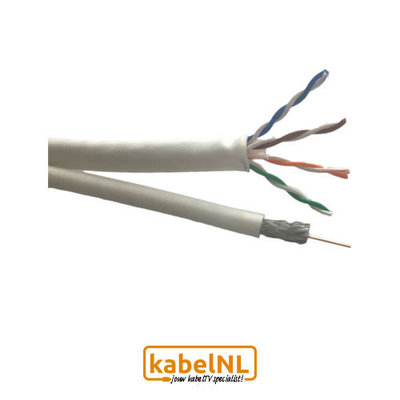 Technetix Coax en UTP Cat6 combikabel