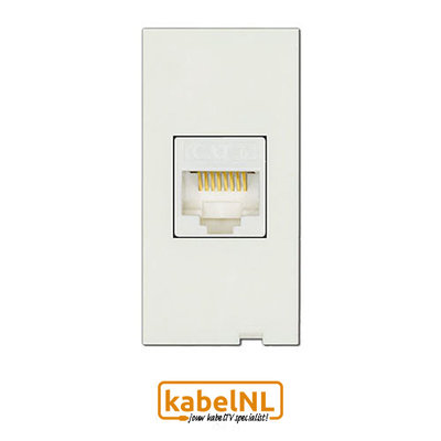 Click 50 RJ45 Cat6 netwerk module