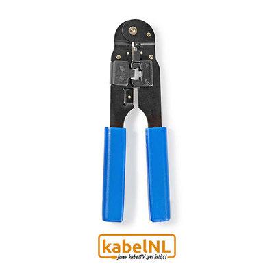 Krimptang RJ45 voor netwerk kabels