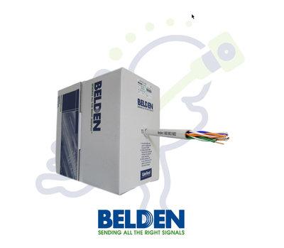 Belden 1583E UTP Cat5E netwerk kabel grijs trekdoos 305m