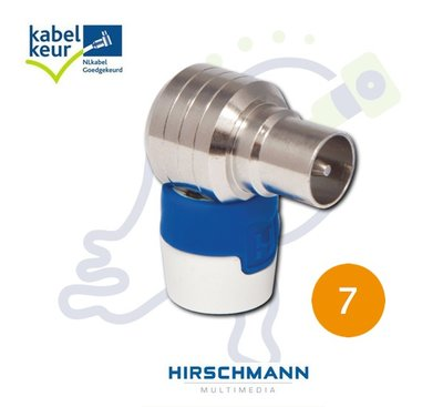 KOSWI 5 4G LTE proof IEC connector male KabelKeur