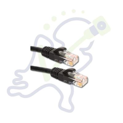 Cat5E UTP netwerk kabel Zwart
