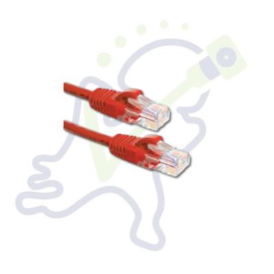 Cat5E UTP netwerk kabel Rood