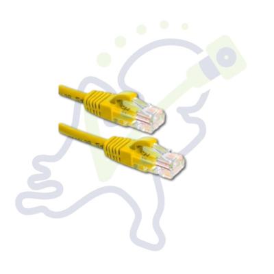 Cat5E UTP netwerk kabel Geel