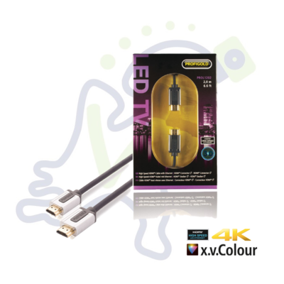Profigold High Speed HDMI kabel met ethernet 2 meter