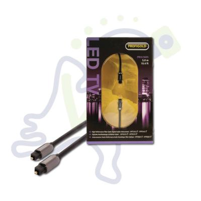 Profigold Optische toslink kabel voor audio 5 meter