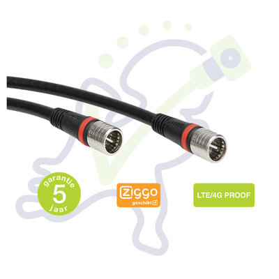 Technetix RLA++ 1.5m modemkabel Ziggo geschikt 4G