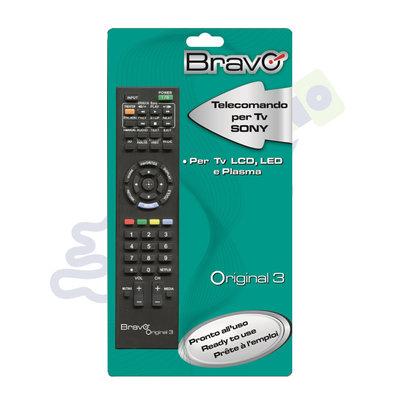 Bravo afstandsbediening voor Sony tv's