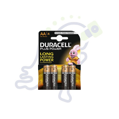 Duracell Plus Power AA batterijen 4 stuks