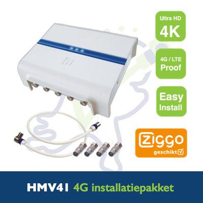 Hirschmann HMV41 installatiepakket 4G Proof Ziggo geschikt