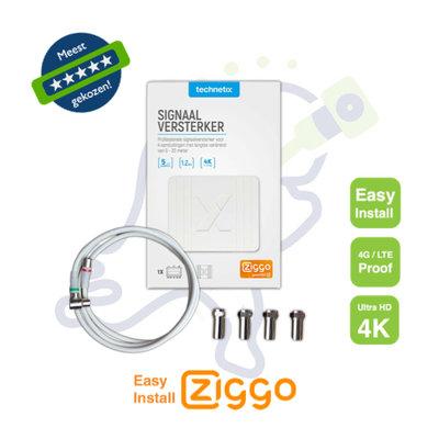 TV signaalversterker Ziggo retourgeschikt FRA752X Easy Install