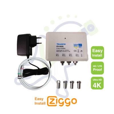 Antenneversterker Ziggo OV-8420 Easy Install