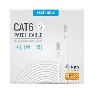 cat6 netwerkkabel Ziggo 15 meter