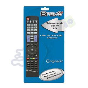 Bravo afstandsbediening voor LG tv's