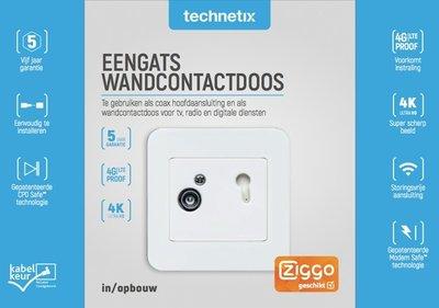 DIO-01S Technetix abonnee overname punt | einddoos Ziggo geschikt