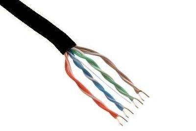 Belden 7965EPE UTP Cat6 PE netwerk kabel voor buiten zwart 100m