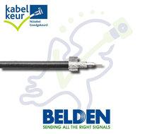 Belden H125 DB+ coax kabel zwart rol p/m