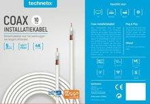 Technetix coax kabel 4G Ziggo geschikt 10m