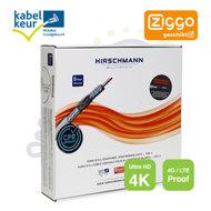 KOKA 9 ECA/100 4G LTE Proof Hirschmann coax kabel rol 100m Ziggo geschikt